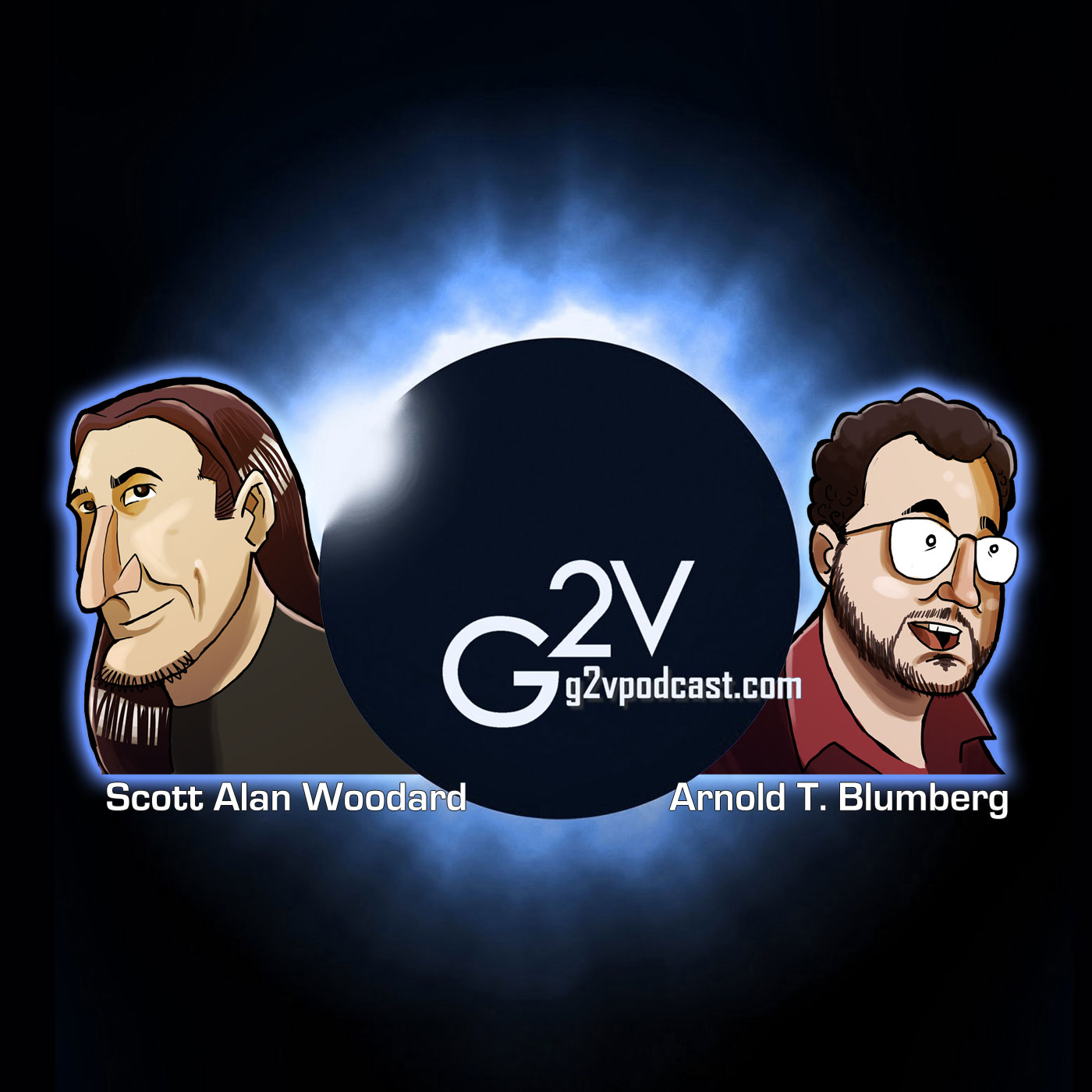 The G2V Podcast: The Pop Culture Audio Magazine logo