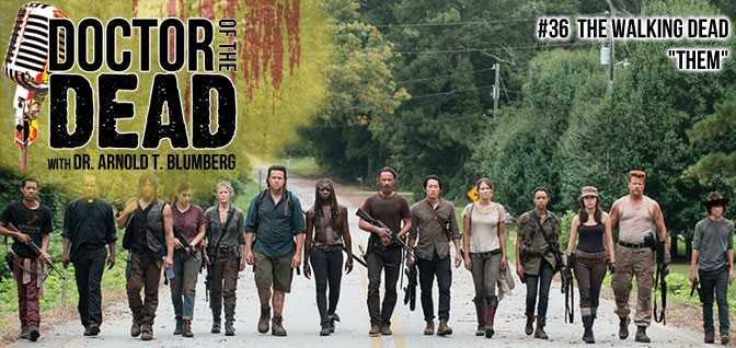 "36: The Walking Dead S05E10 – ""Them"""