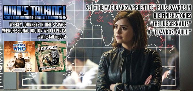 """15: Doctor Who S09E01 – """"The Magician's Apprentice"""""""