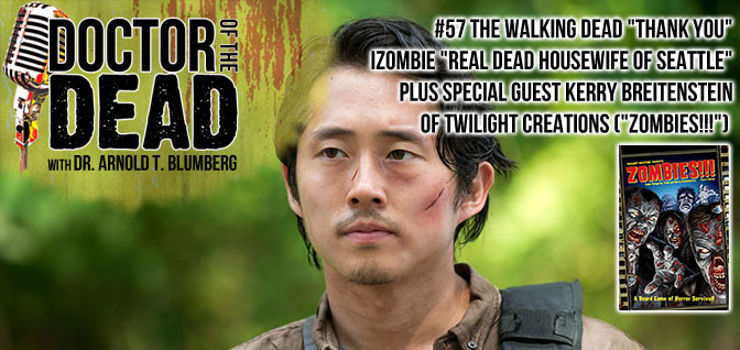 "57: The Walking Dead S06E03 iZombie S02E03 Plus Special Guest Kerry Breitenstein of Twilight Creations (""Zombies!!!"")"