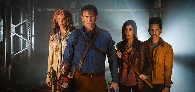 TRAILER: ASH VS. EVIL DEAD SEASON 2 Red Band Trailer Gives Us Some Sugar! [UPDATED 7/19/16]