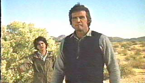 Chris Makepeace and Lee Majors team up for wacky hijinks - well, not really - in THE LAST CHASE.