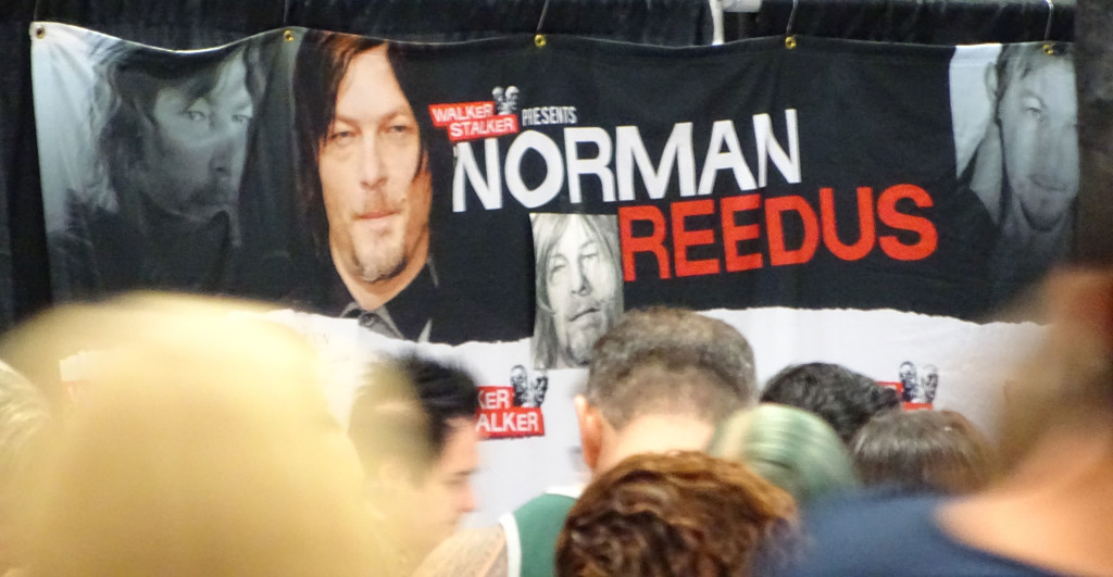 Can you see Norman Reedus in this picture? No, we mean the real one. Well neither can we... Photo by Natalie B. Litofsky
