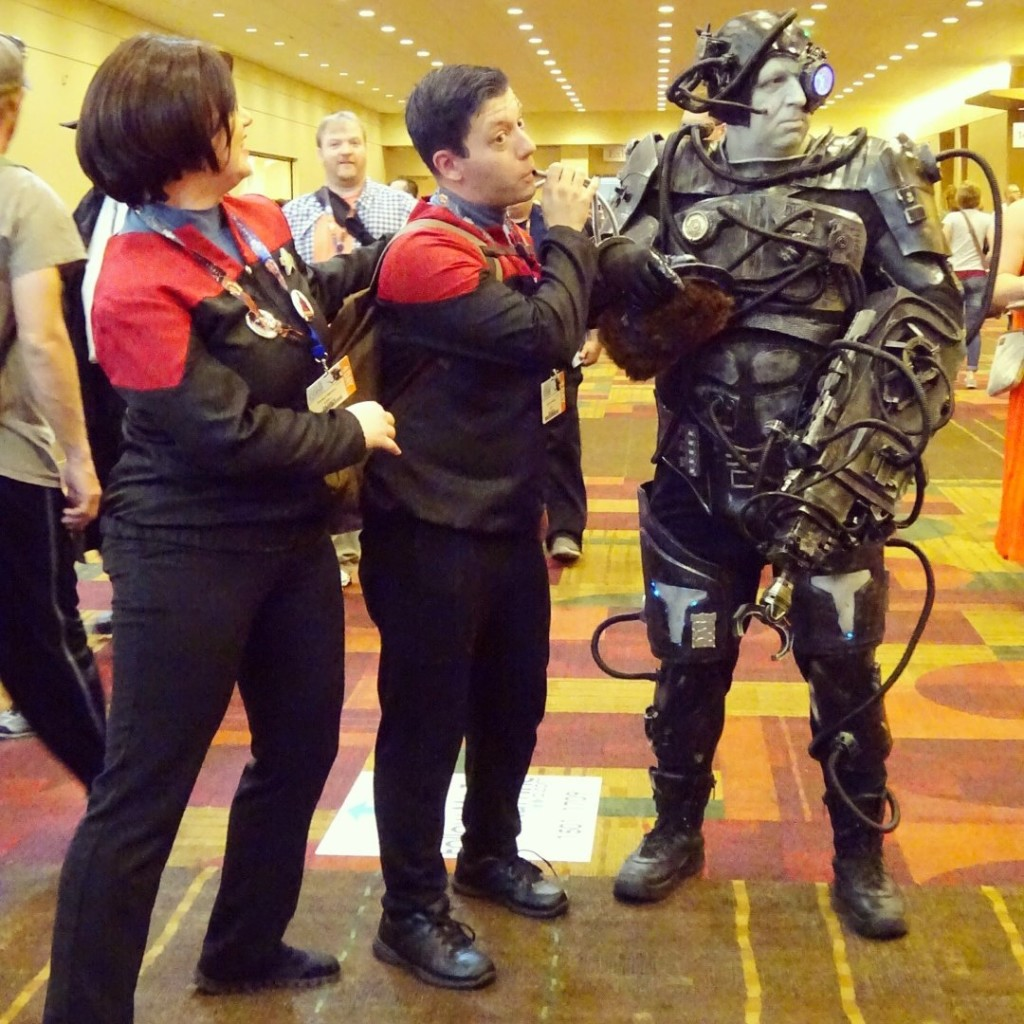 When at GenCon, resistance is futile! Photo by Natalie B. Litofsky