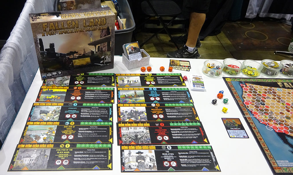 It did seem a bit harder to find many zombie and apocalypse-themed games this year, but they were there if you looked hard enough. Photo by Natalie B. Litofsky