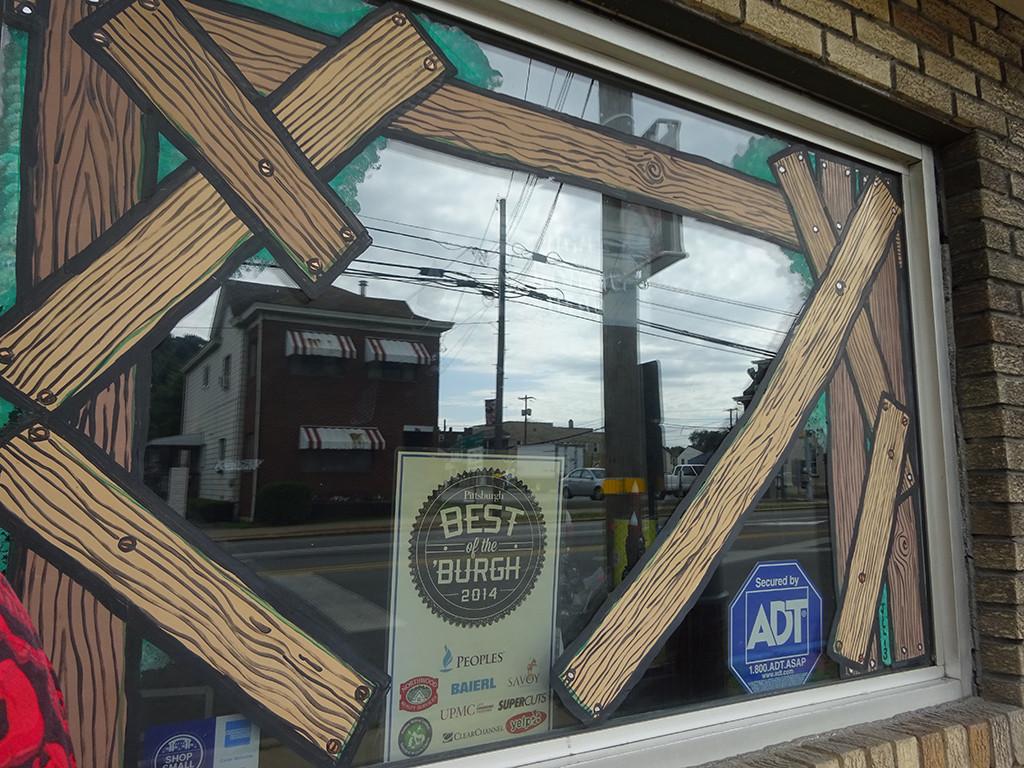Loving those window treatments! Photo by Natalie B. Litofsky