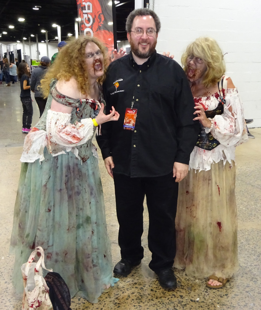 Zombies love me for my brains. I know, that's an old one, but I'm entitled. Photo by Natalie B. Litofsky