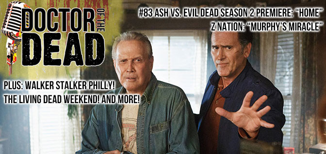 83: Ash Vs Evil Dead S02E01 Season 2 Premiere and Z Nation S03E03