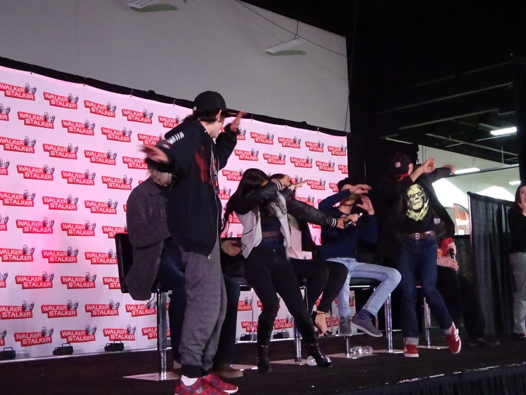 A fan teaches the Z NATIONers how to dab! Photo by Natalie B. Litofsky