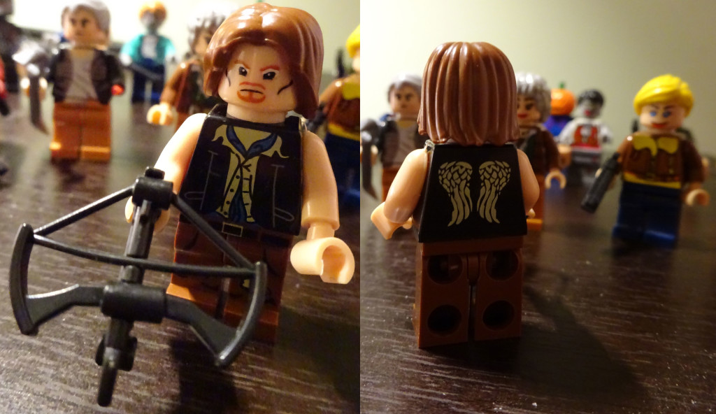 ...And yes, Daryl has his wings printed on the back too! Photo by Natalie B. Litofsky