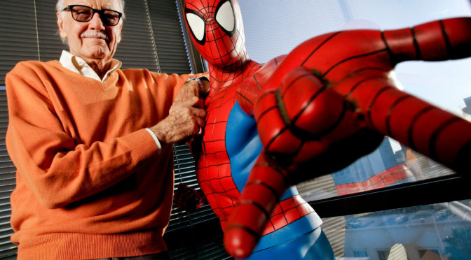 IF THIS BE MY CREATOR: SPIDER-MAN GOES ONE-ON-ONE WITH STAN LEE!