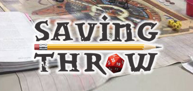 GAMING: Making Saving Throws with Producer Dom Zook